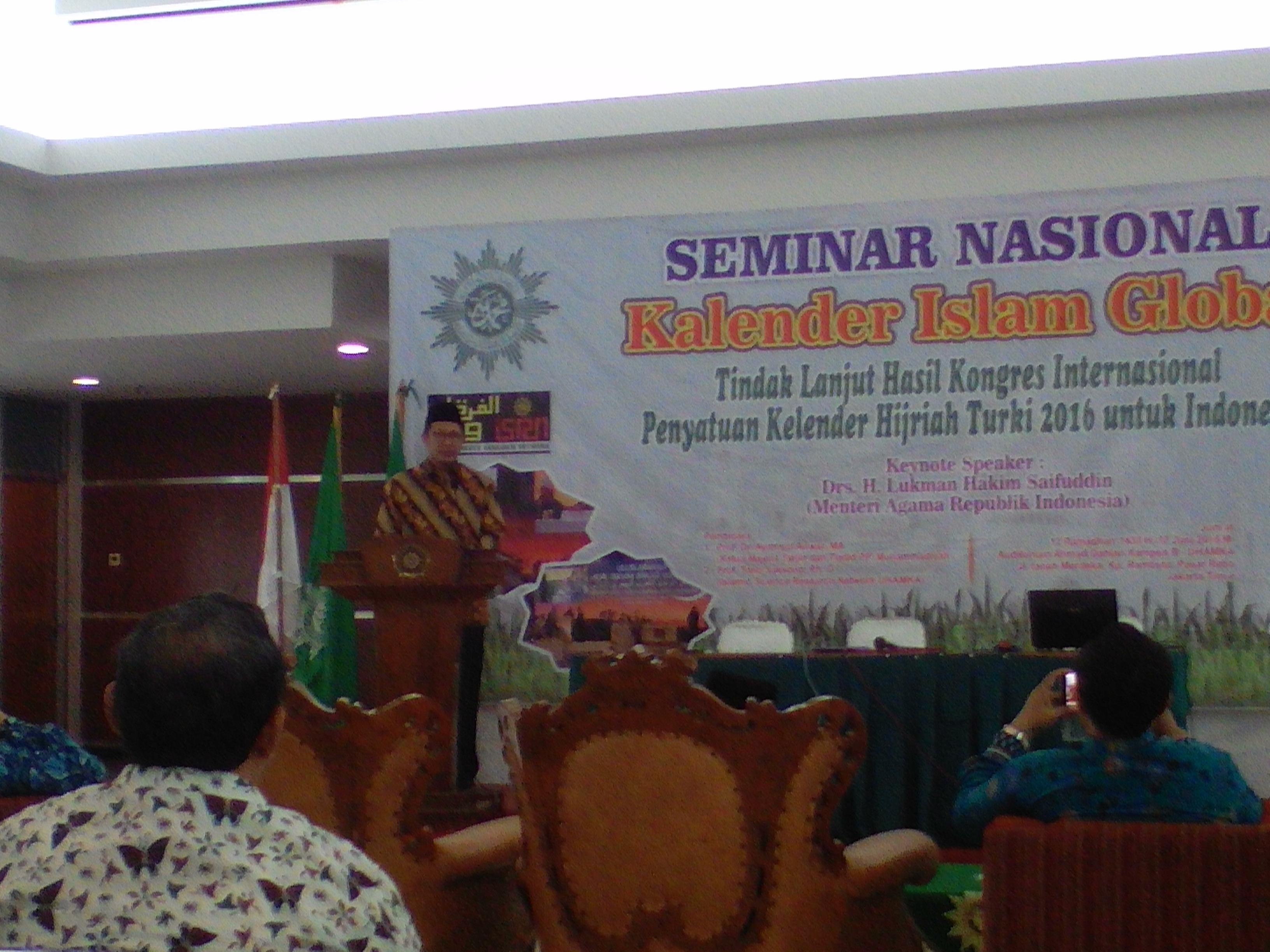 Photo of Menteri Agama RI Apresiasi Upaya Muhammadiyah Dalam Mewujudkan Kalender Islam Global