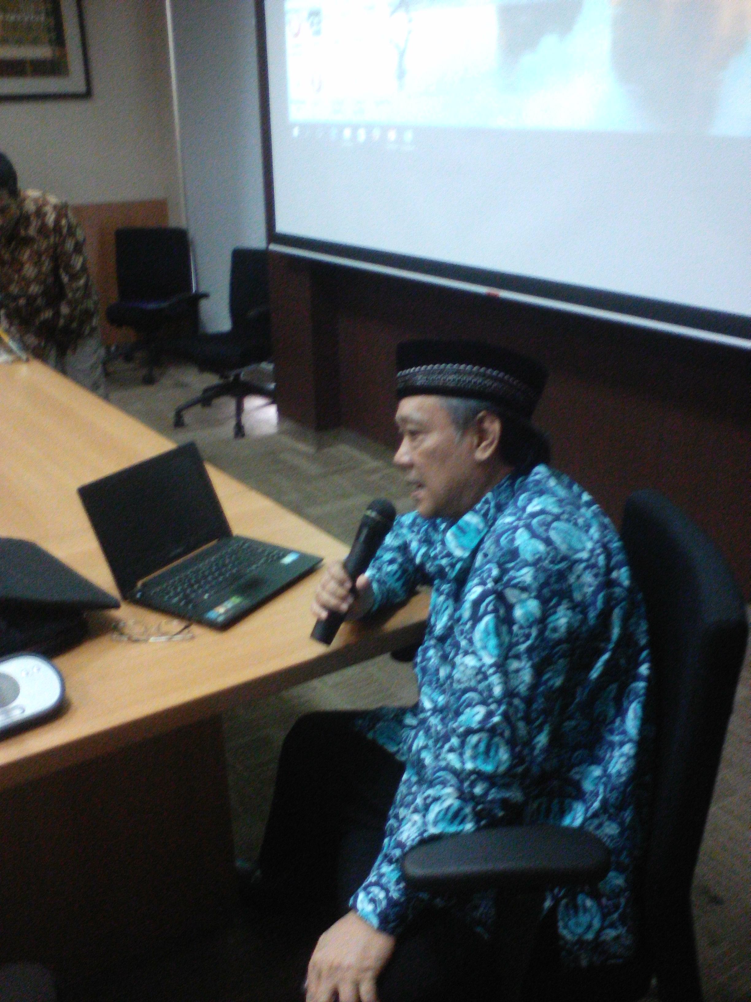 Photo of Slide Presentasi Prof. Syamsul Anwar pada Acara Temu Ahli Falak Muhammadiyah di UHAMKA