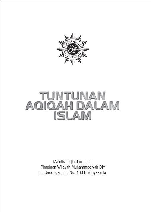 Photo of ebook Tuntunan Aqiqah oleh Majelis tarjih & Tajdid PWM DIY