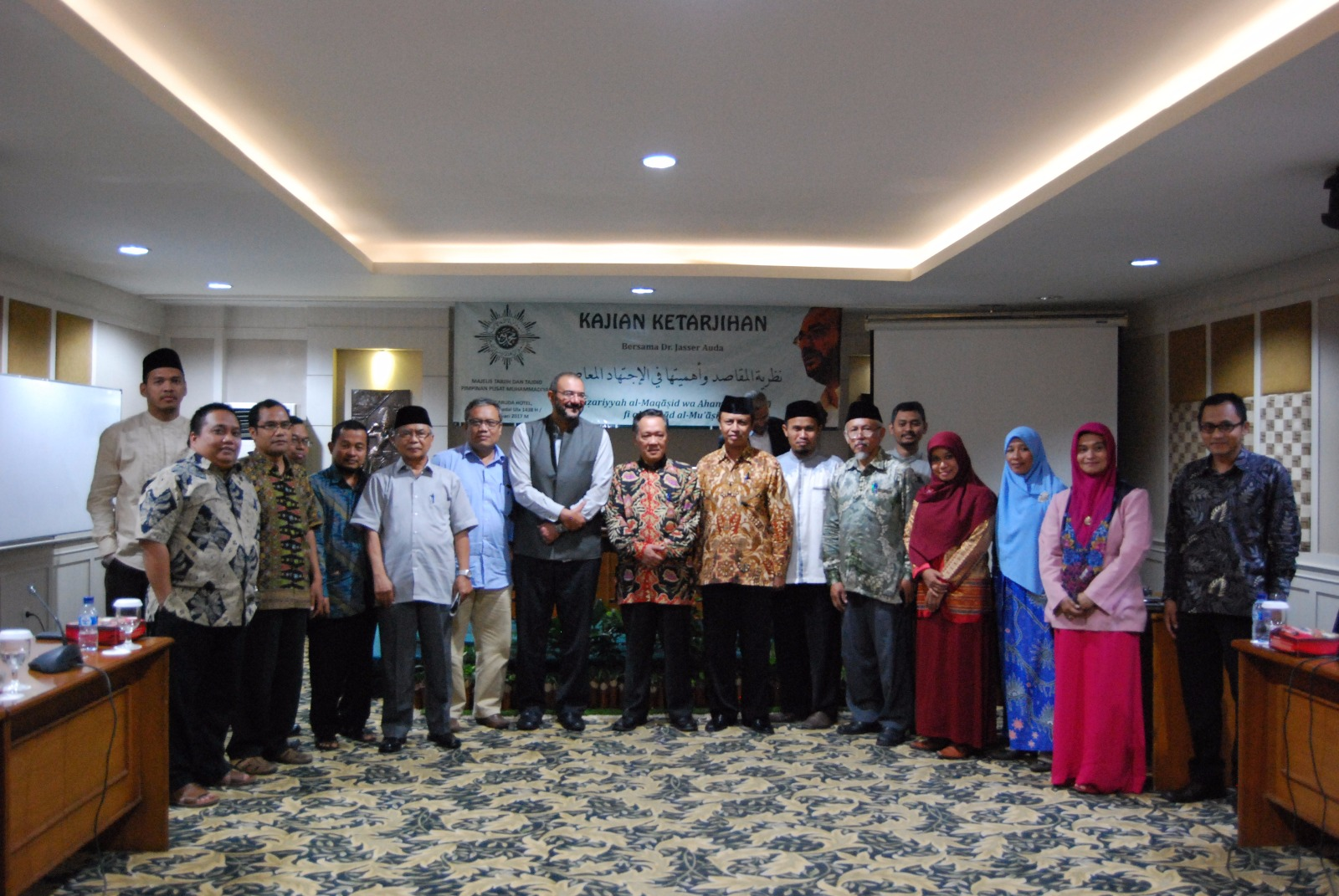 Photo of Jasser Auda on Indonesian Islam and Muhammadiyah
